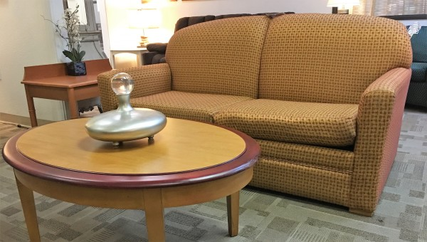 Sofa $89. Coffee Table $49. End Table $20.00